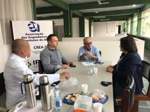 Read more about the article Reunião sobre fiscalização do Crea SP na região