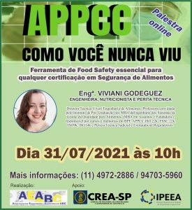 Read more about the article Próxima palestra online oferecida pela Associação dos Engenheiros e Agrônomos do ABC será no dia 31 de julho