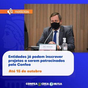 Read more about the article Entidades já podem inscrever projetos a serem patrocinados pelo Confea