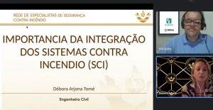 Read more about the article Palestra online sobre Sistema contra incêndio foi realizada com sucesso e muita participação
