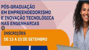 Read more about the article Pós-graduação em inovação do Crea-SP está com inscrições abertas
