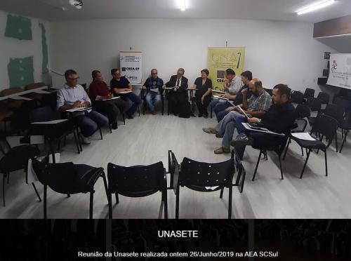 Reuniões Unasete antes de 2020